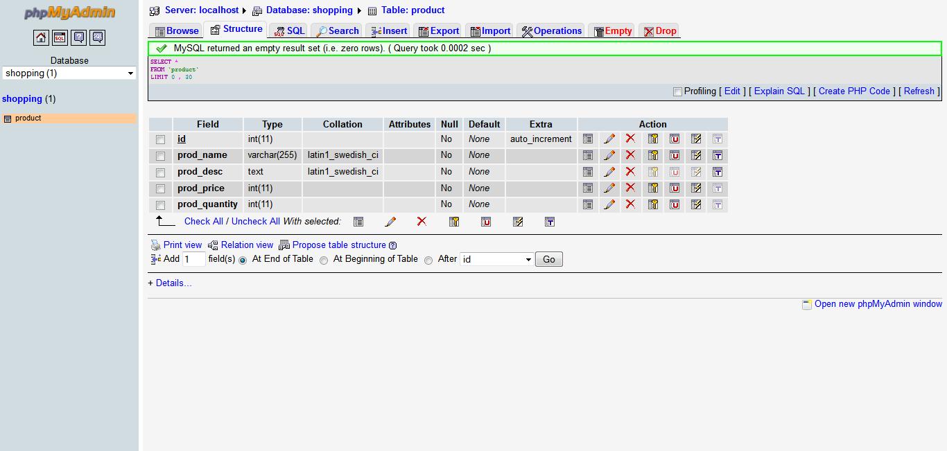 add edit delete db in angular