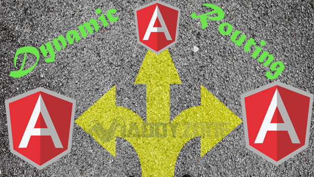 Dynamic routing with AngularJS