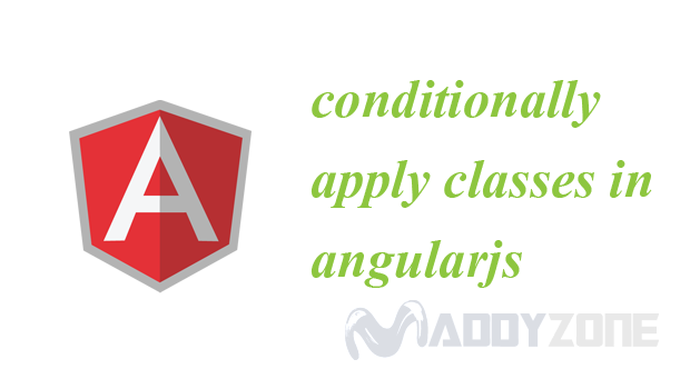 conditionally apply classes in angularjs