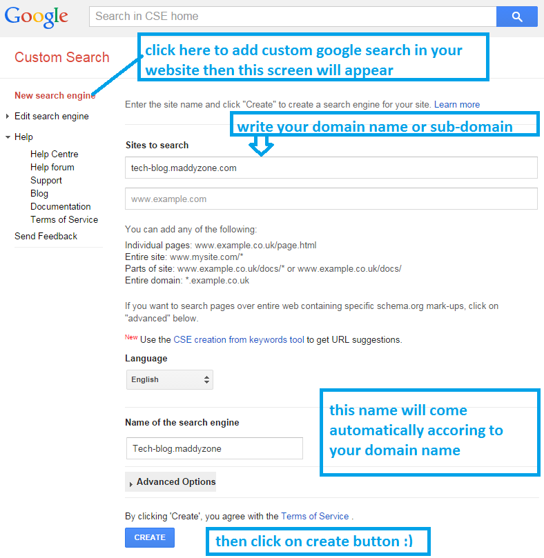How to add Google search in your website